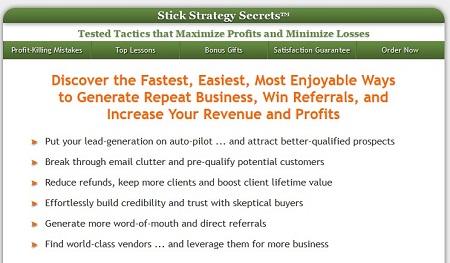 Alex Mandossian - Stick Strategy Secrets