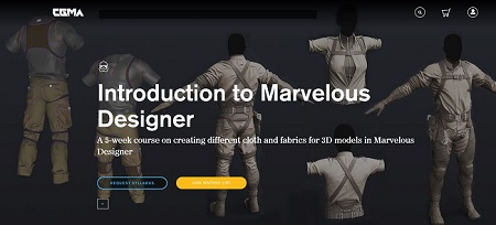CGMA - Introduction to Marvelous Designer