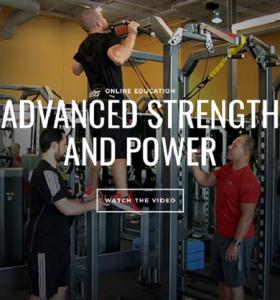 Dan Baker - Advanced Strength and Power (UP)