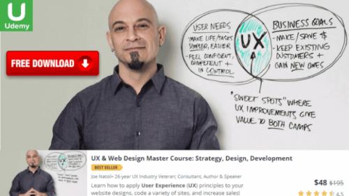 Udemy - UX & Web Design Master Course Strategy, Design, Development