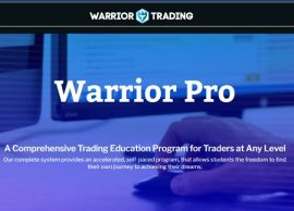 Warrior Trading - Warrior Pro Trading System