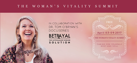 Dr Tom O'Bryan - The Woman's Vitality Summit