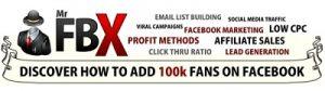 Mr. FBX - How To Add 100k Facebook Fans