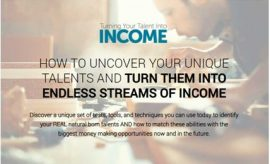 Eben Pagan – Turn Your Talent Into Income
