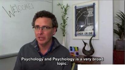 Steve Joordens - Introduction to Psychology