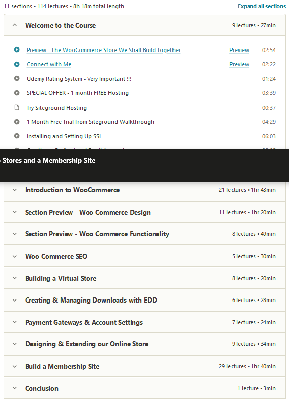 WordPress E-commerce Build Two Stores and a Membership Site 1