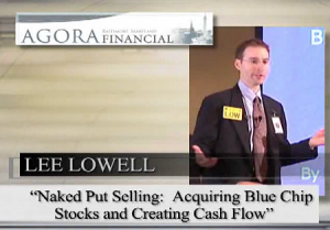 Lee Lowell - Put Selling Workshop