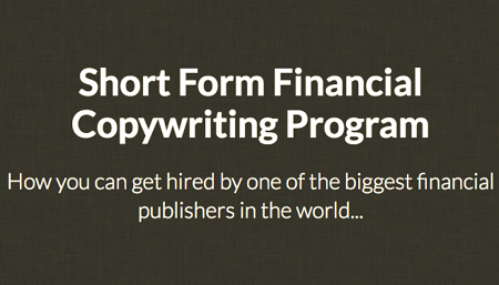 Short Form Financial Copywriting Program with Jake Hoffberg