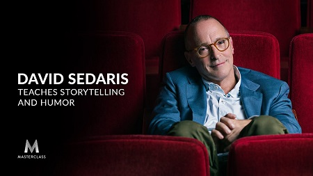 David Sedaris Teaches Storytelling and Humor