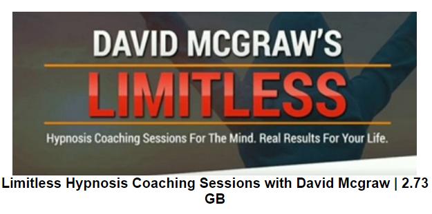 Limitless Hypnosis Coaching Sessions with David Mcgraw